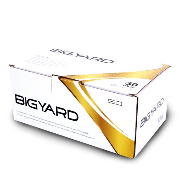 빅야드 SD 골프공 2피스 42.67mm, 화이트, 30개