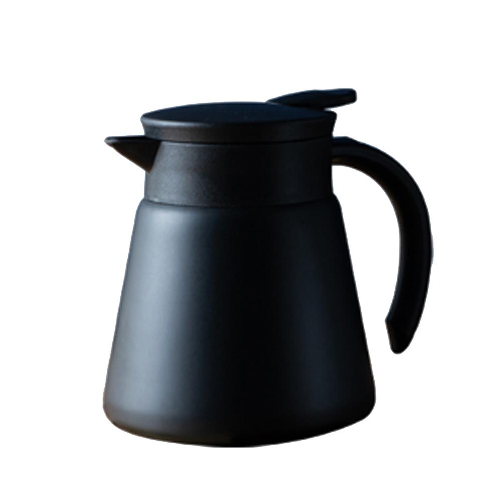 칼딘 보온보냉 스텐 드립 커피서버 워터저그 650ml, 블랙, 1개