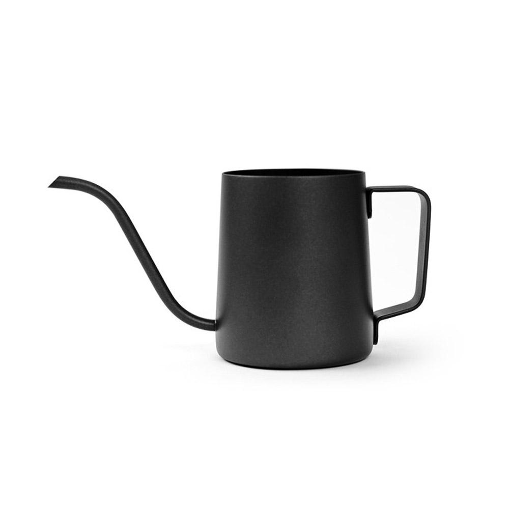 칼딘 커피 드립포트 테프론 블랙 600ml, 1개