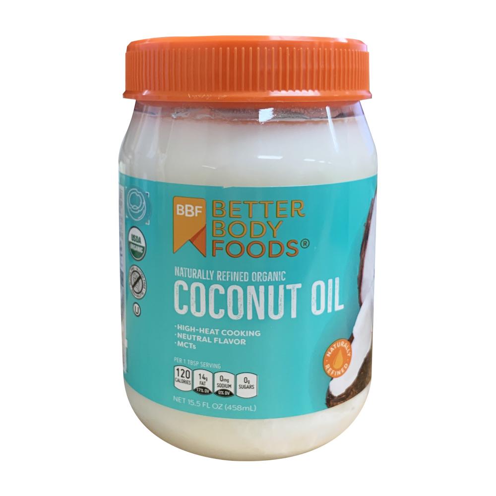 베터바디푸즈 유기농 코코넛 오일, 458ml, 1개