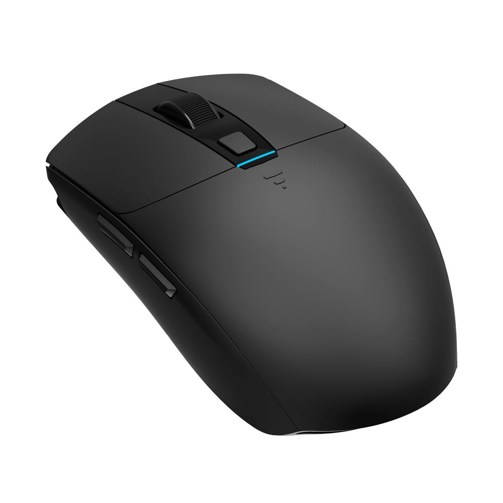 앱코 HACKER A250W 3335센서 무선 RGB 게이밍 마우스, 블랙