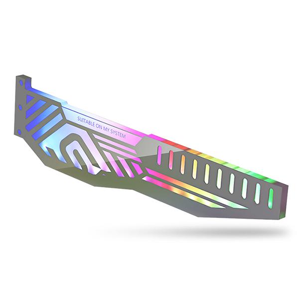 앱코 SUITMASTER M1 LED 그래픽카드 지지대, 1개