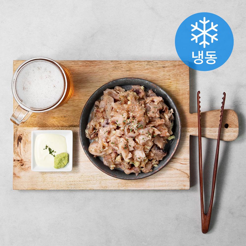 즉석구이 땅콩 버터 오징어 족살 (냉동), 100g, 5봉