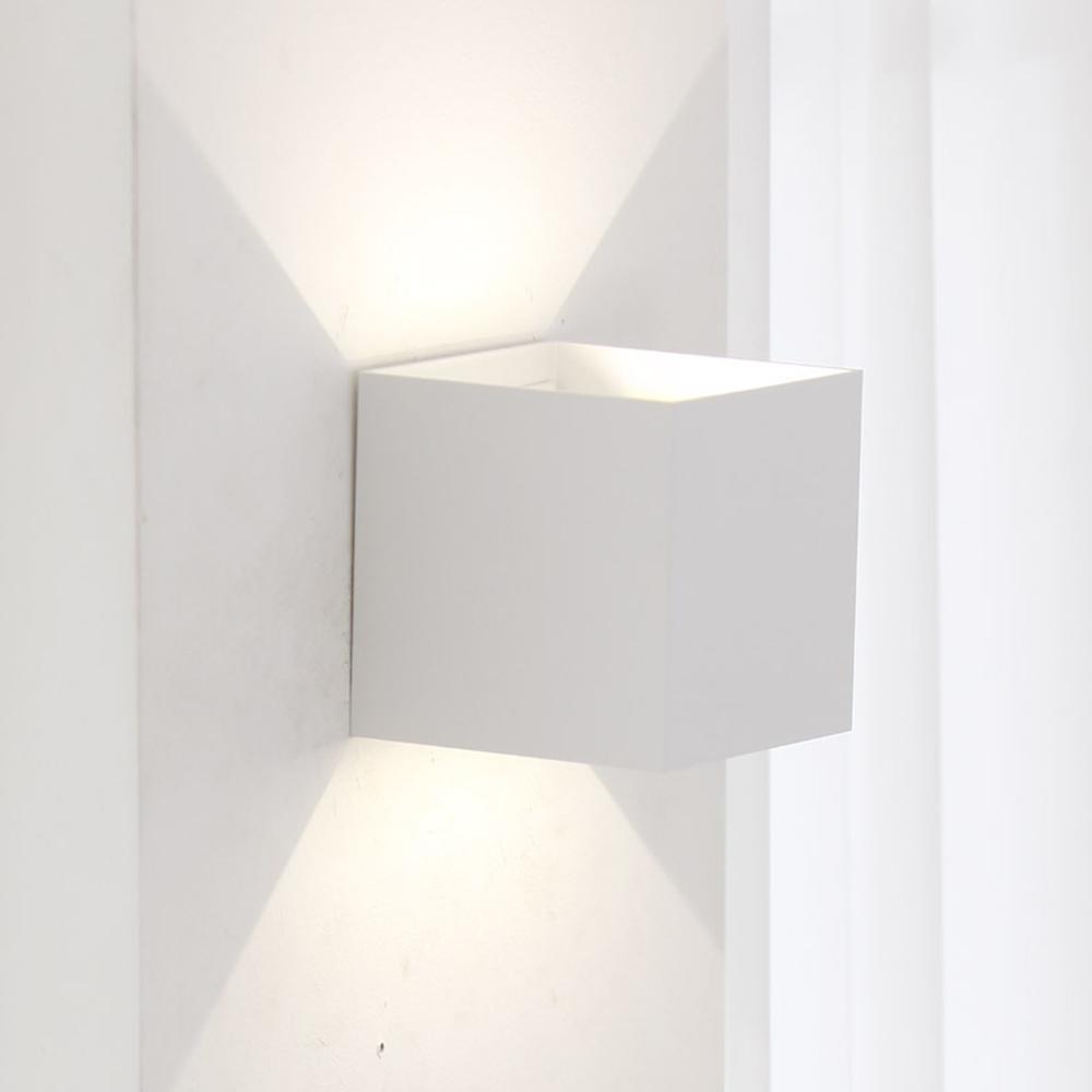 파파 LED 비트벽등 5W, 화이트