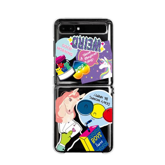 바니몽 유니크 디자인 클리어하드 휴대폰 케이스