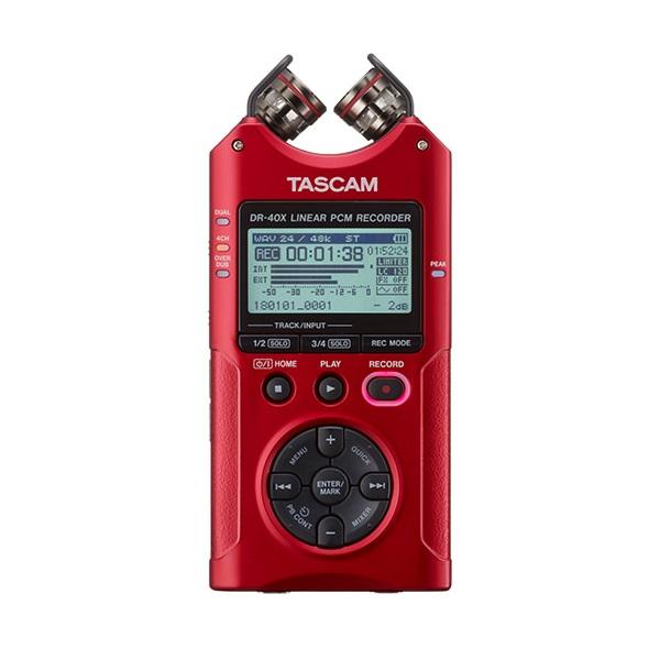 타스캠 비엘에스 프로용 레코더, DR-40XR, 레드