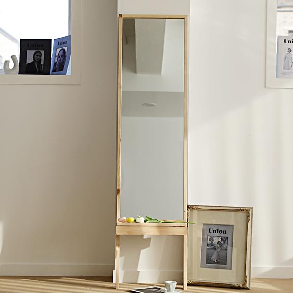 이즈하임 케이트 원목 화장대 서랍 거울 전신거울