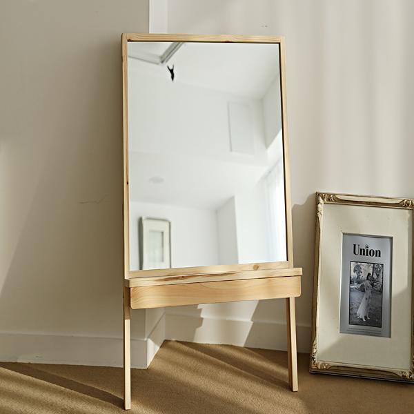 이즈하임 케이트 원목 화장대 서랍 거울 400