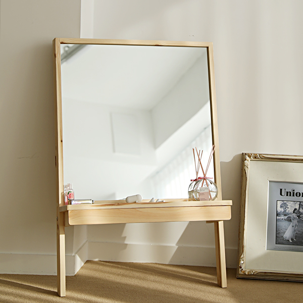 이즈하임 케이트 원목 화장대 서랍 거울 600