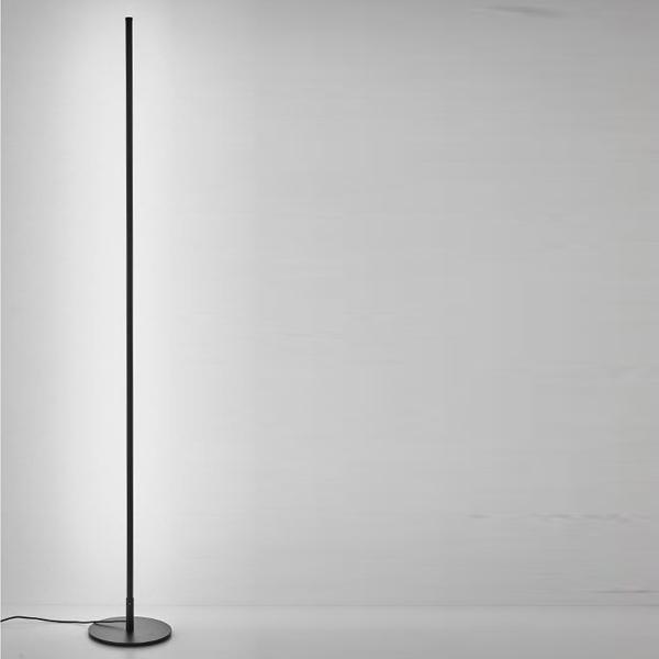 카키고 북유럽 LED 플로어 스탠드 무드등 대, 화이트