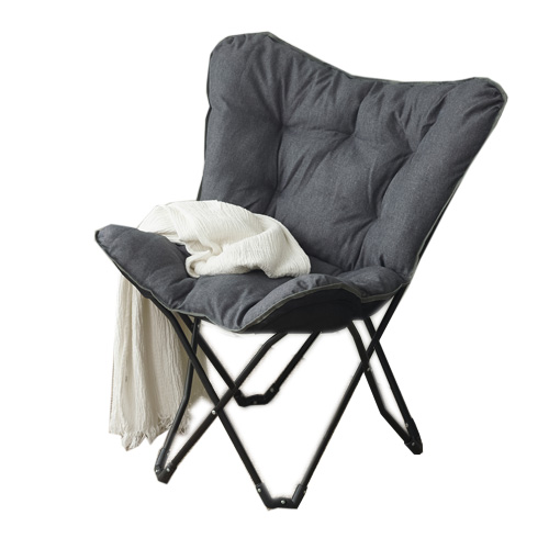 릴렉스 접이식 의자 A형, 다크그레이