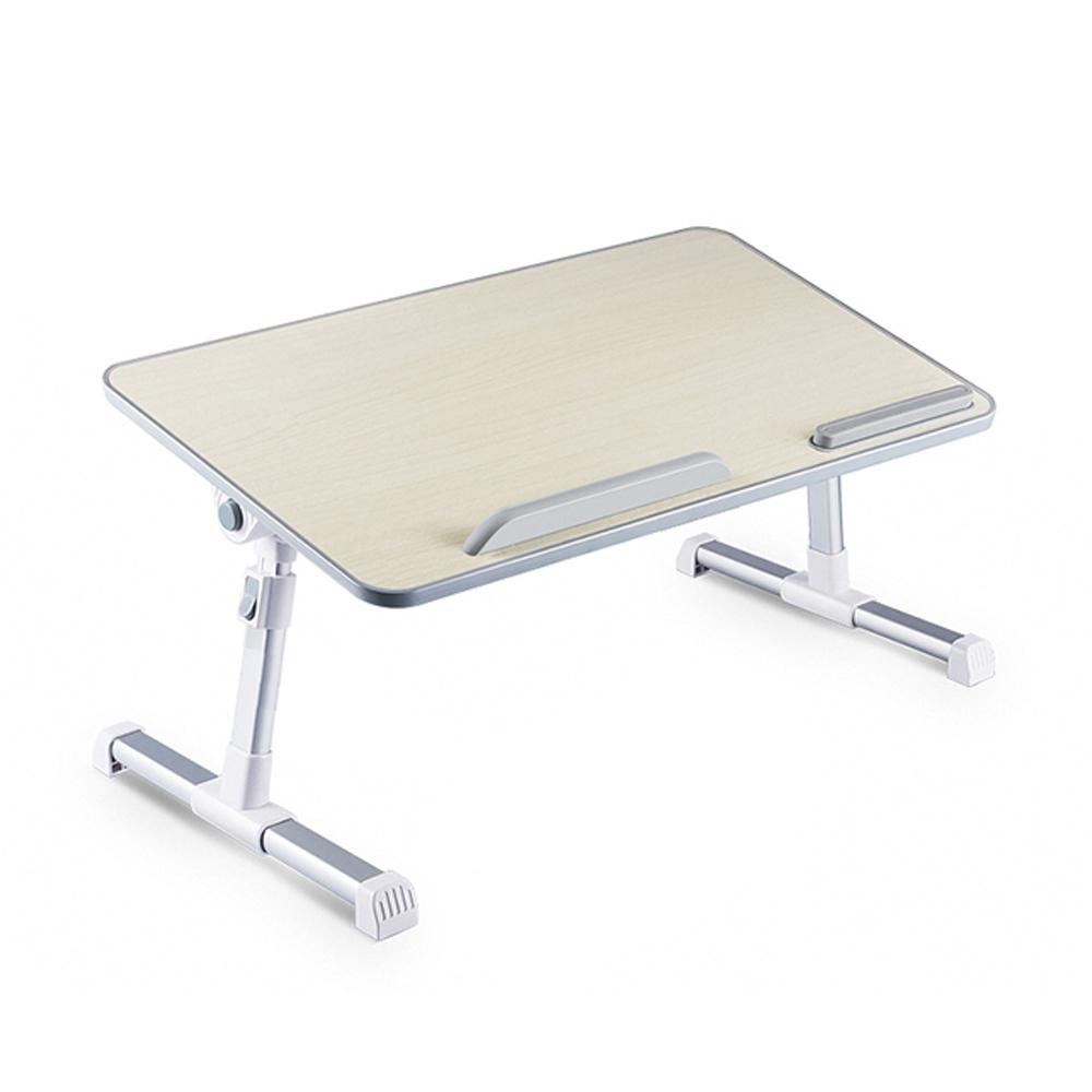 오엠티 접이식 원목 각도높이조절 노트북 테이블 OSO-P7, 혼합색상