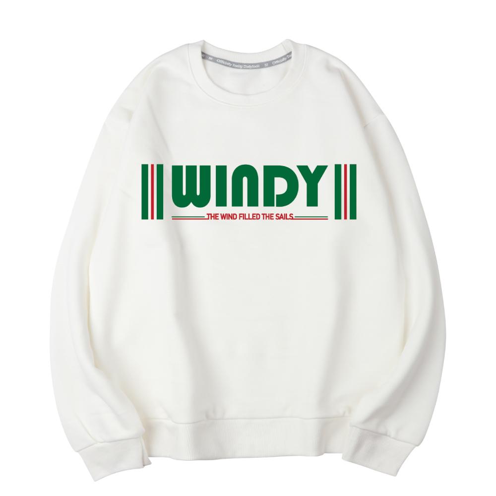 벤힛 WINDY 세미 오버핏 특양면 맨투맨