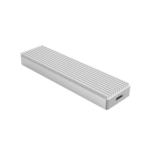 오리코 NVMe M.2 외장 SSD 케이스 M2PJ-C3 + 케이블 2종, M2PJ-C3(실버)