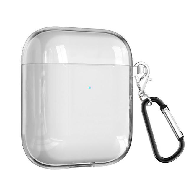다퍼남 TPU 투명 실리콘 에어팟 1세대 2세대 Air Shell 케이스, 단일색상, 단일상품