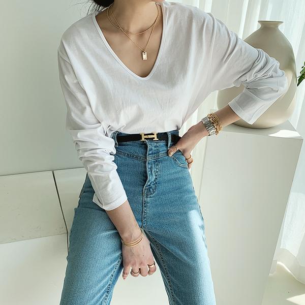 난닝구 여성용 시코니 티셔츠