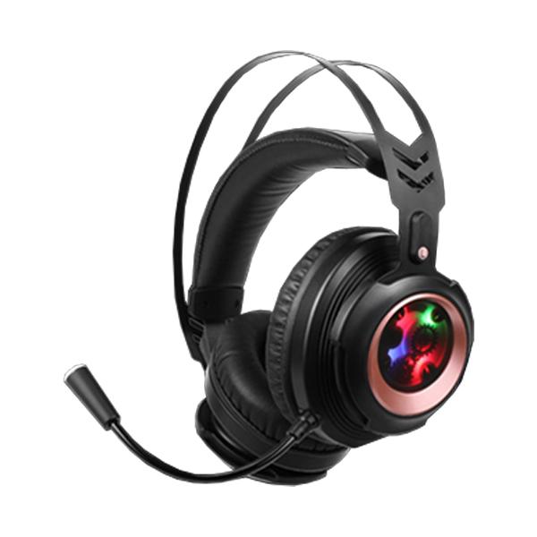 COX CH60 SOUND PLUS 리얼 7.1 게이밍 헤드셋, 블랙
