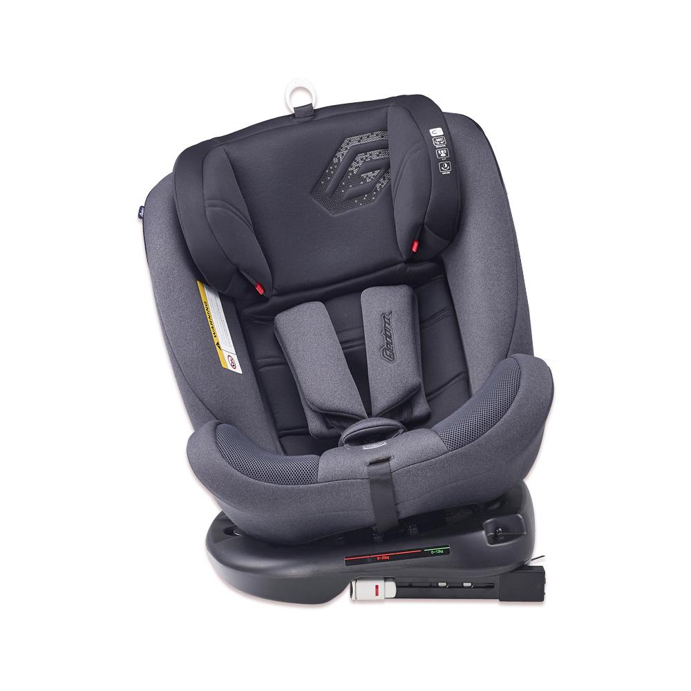 페도라 C9 올라운드 ISOFIX 신생아 카시트 회전형, 차콜 + 블랙