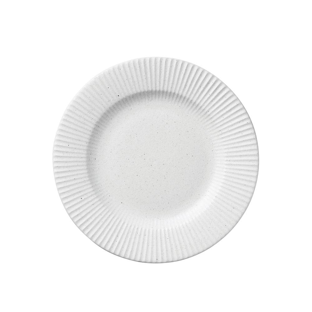 오덴세 시손느 미디움 원형 접시, 지젤화이트