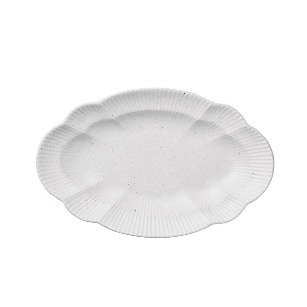 오덴세 시손느 센터피스 접시, 지젤화이트, 1개