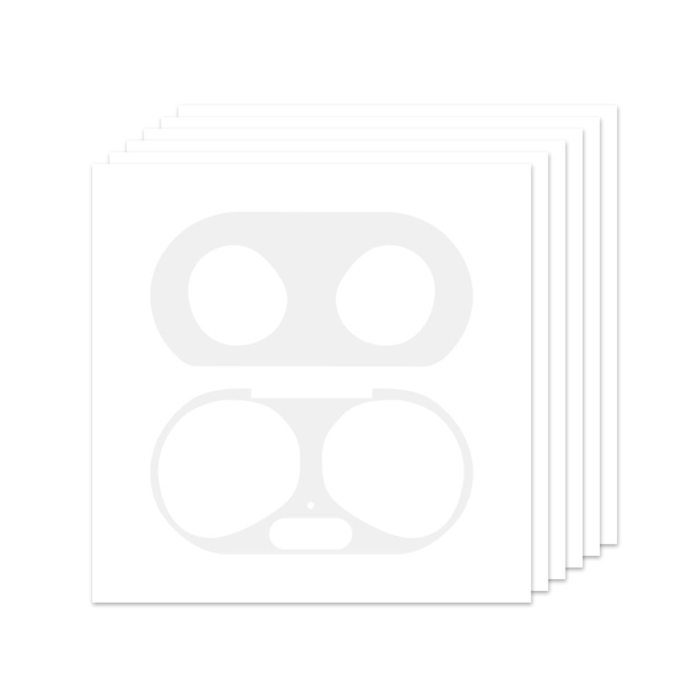 누아트 갤럭시 버즈플러스 철가루 방지 스티커 6p, 단일상품, 투명