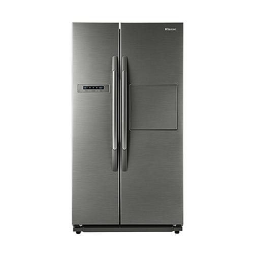 위니아대우 프리미엄 양문형 냉장고 EKR72DSRTS 718L 방문설치