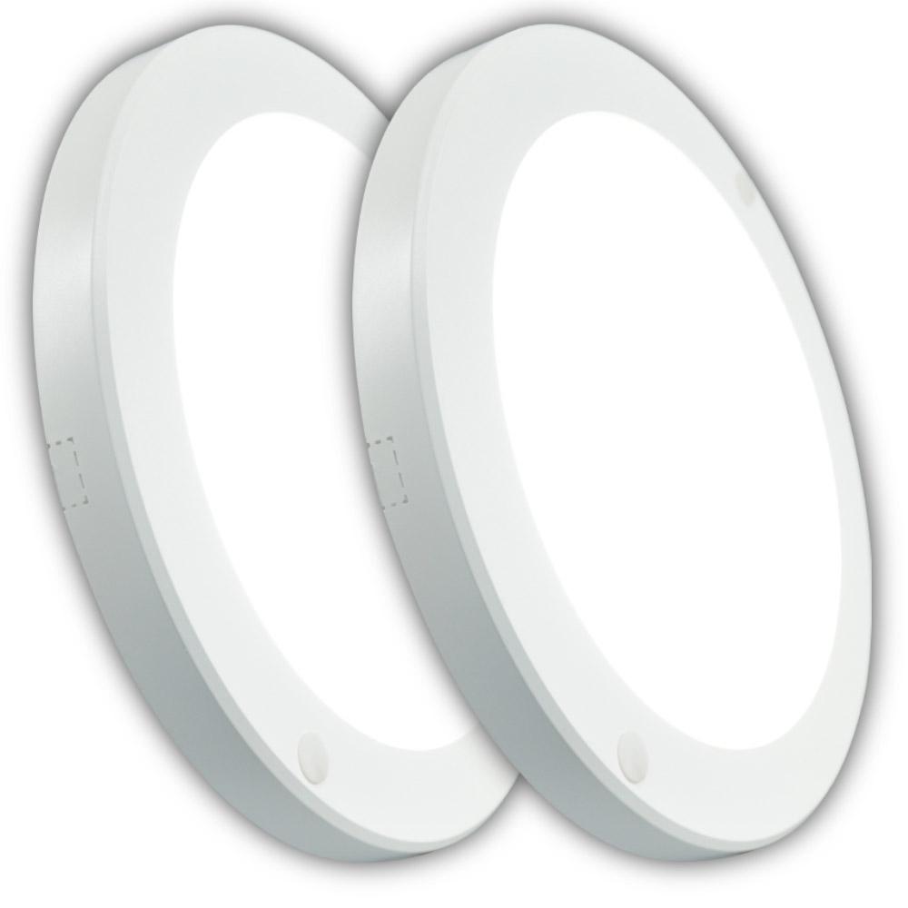 LED 엣지 원형 직부등 20W 주광색 2p