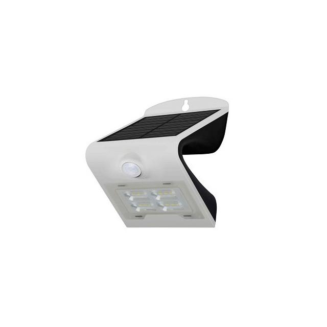룩스누리 LED솔라태양광 정원등 센서형 벽부버터플라이 BF2W, 혼합색상