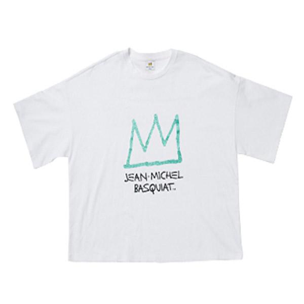 클라이드앤 여성용 바스키아 왕관 반팔티셔츠