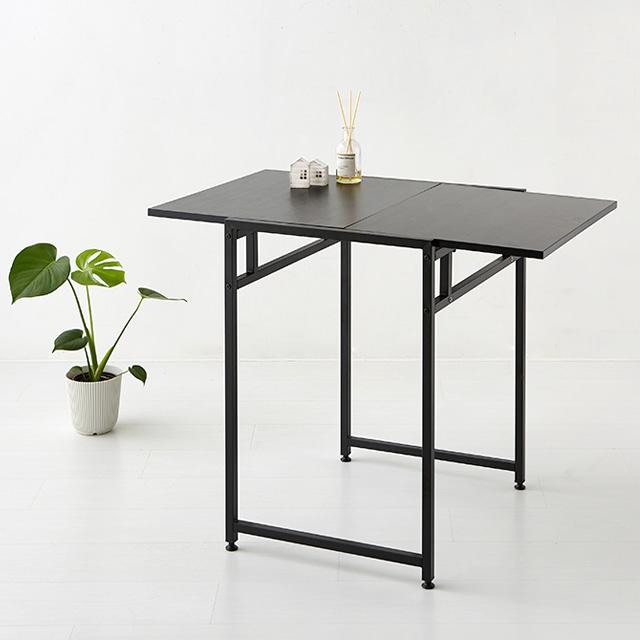 마켓비 OISA 확장형 테이블 KS1033TB, 블랙