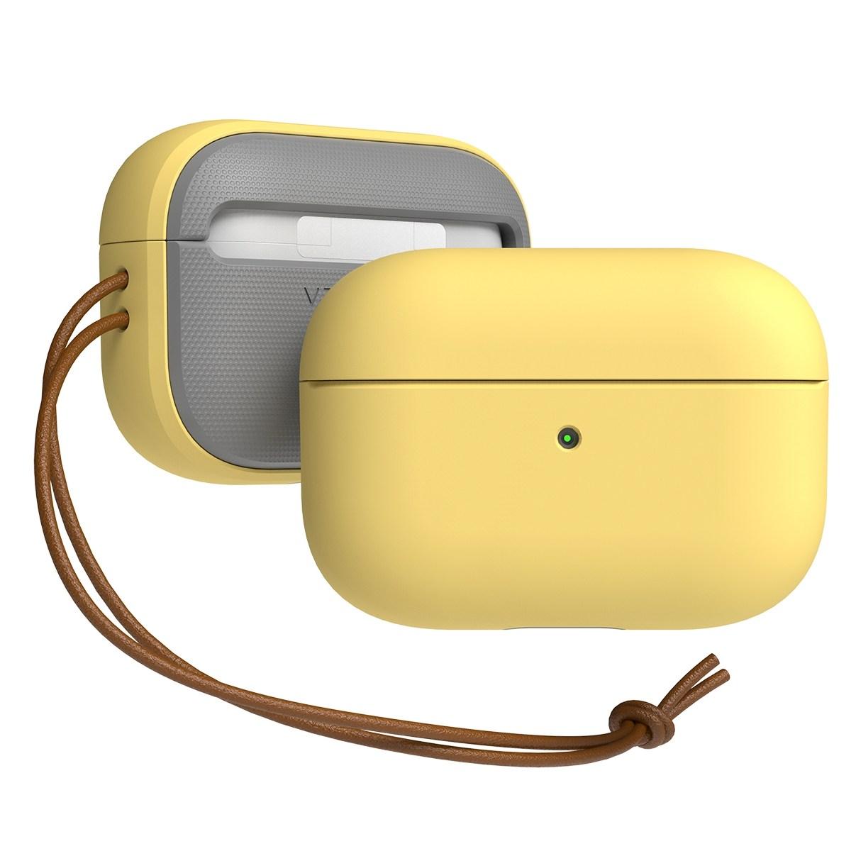 베루스 에어팟 프로 모던 이어폰 케이스, 레모네이드, 단일상품