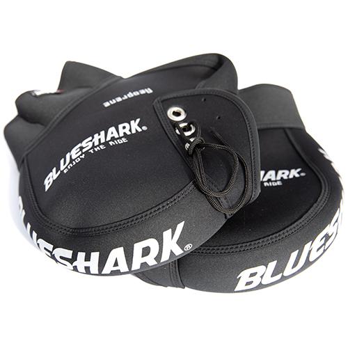 블루샤크 겨울용 오토바이용 방한장갑, 블랙