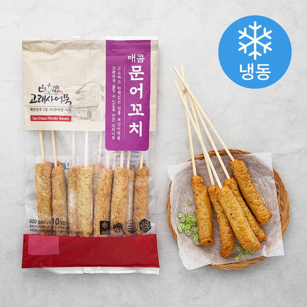 고래사어묵 매콤문어꼬치 (냉동), 600g, 1개