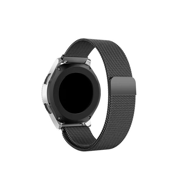 갤럭시워치 액티브 42mm 메쉬메탈 시계줄 20mm, 블랙