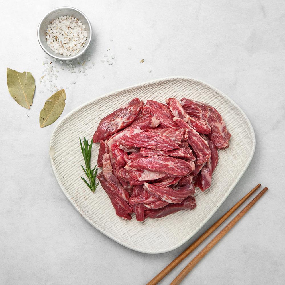 호주산 블랙앵거스 안창살 구이용 (냉장), 300g, 1팩