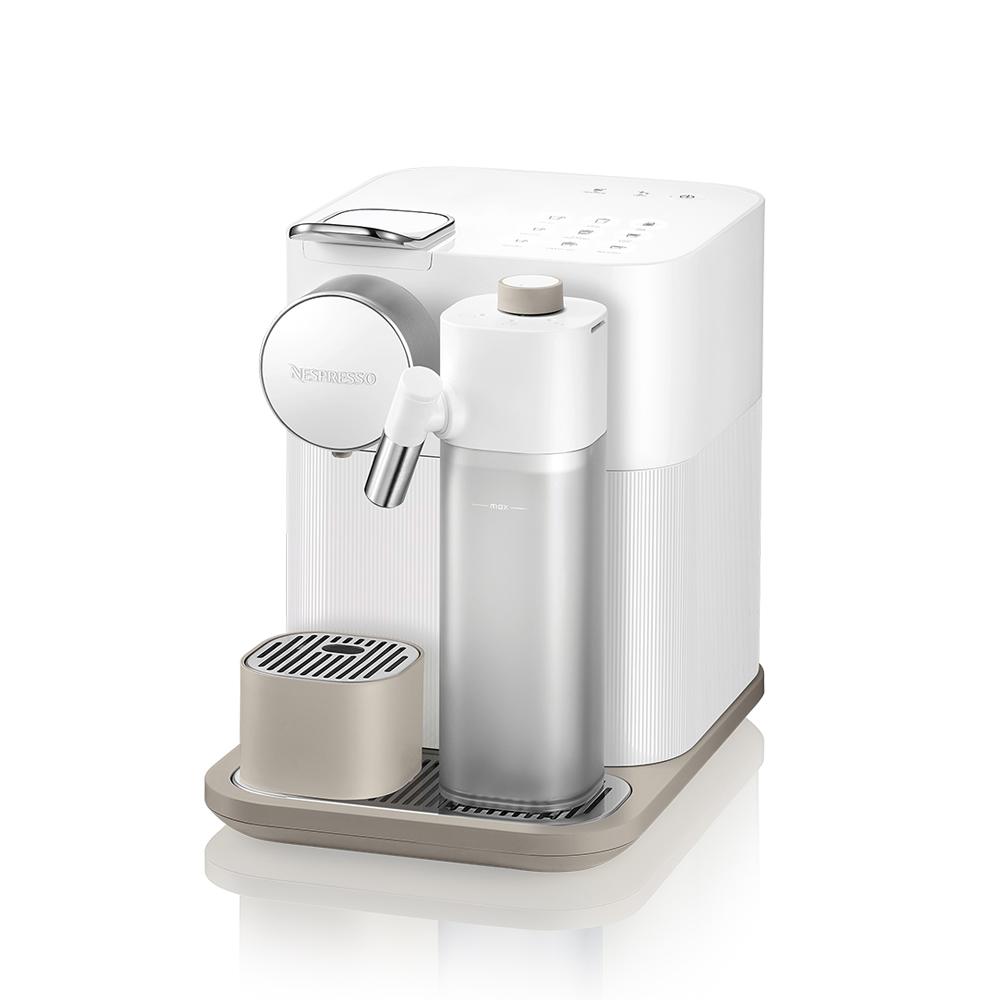 네스프레소 그랑 라티시마 에스프레소 캡슐 커피 머신 프레쉬 화이트, F531