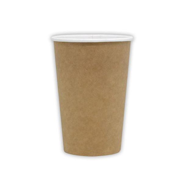 모담팩 크라프트 친환경 종이컵 390ml, 150개입, 1개