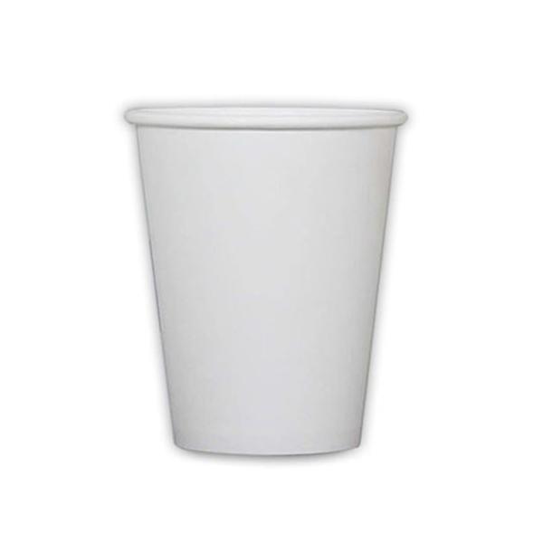 모담팩 백색 무지 친환경 종이컵 390ml, 150개입, 1개