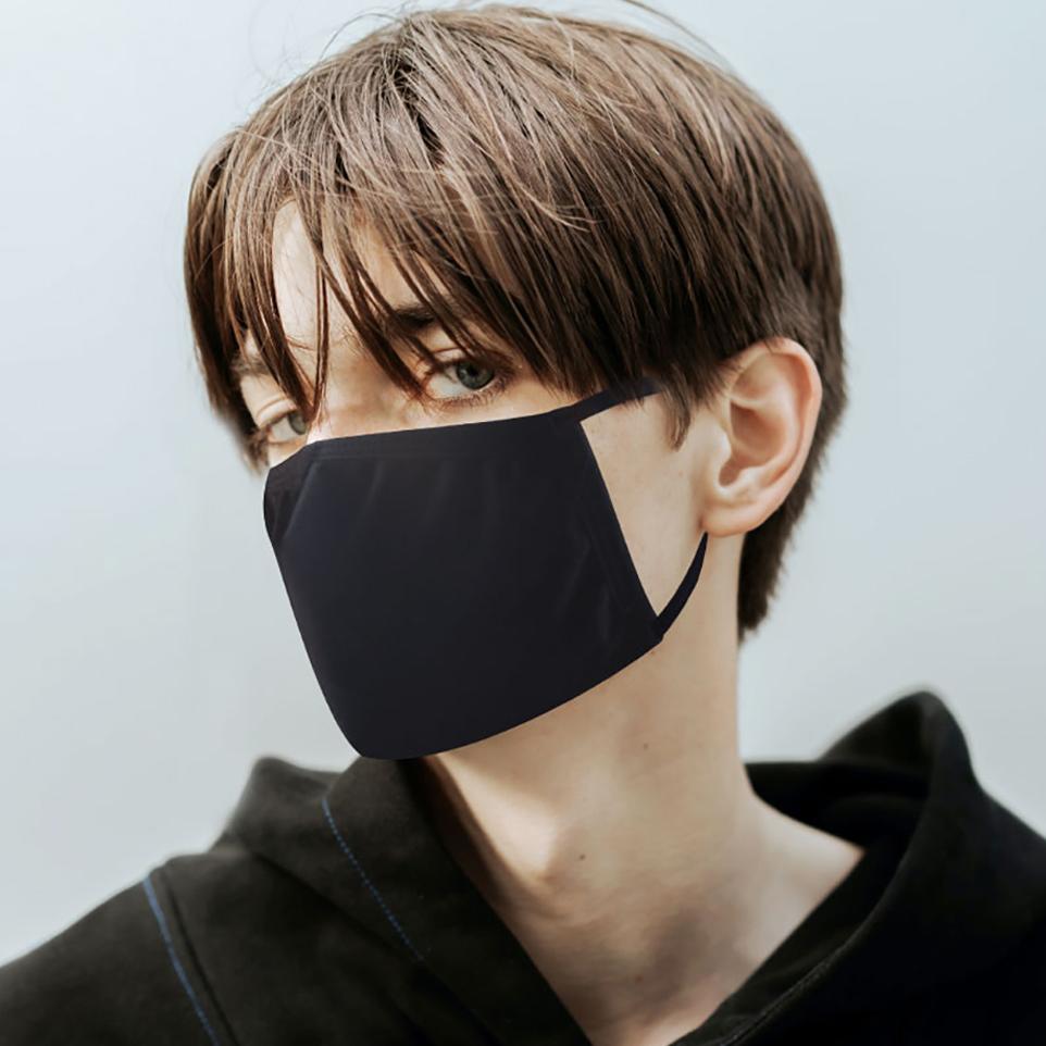 컬러매치 3중 고신축 스판 길이조절 성인용 마스크