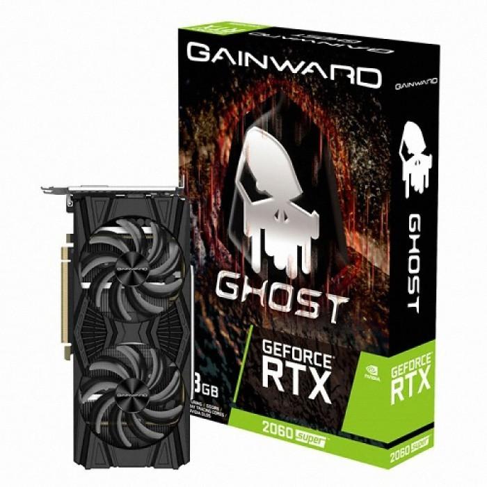 게인워드 지포스 RTX 2060 SUPER 고스트 D6 그래픽 카드 8GB, GW-RTX2060 SUPER 8G GHOST D6