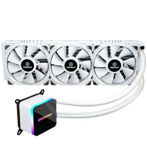 에너맥스 LIQTECH II 360 WHITE ARGB CPU 쿨러, ELC-LTTO360-TBP-W