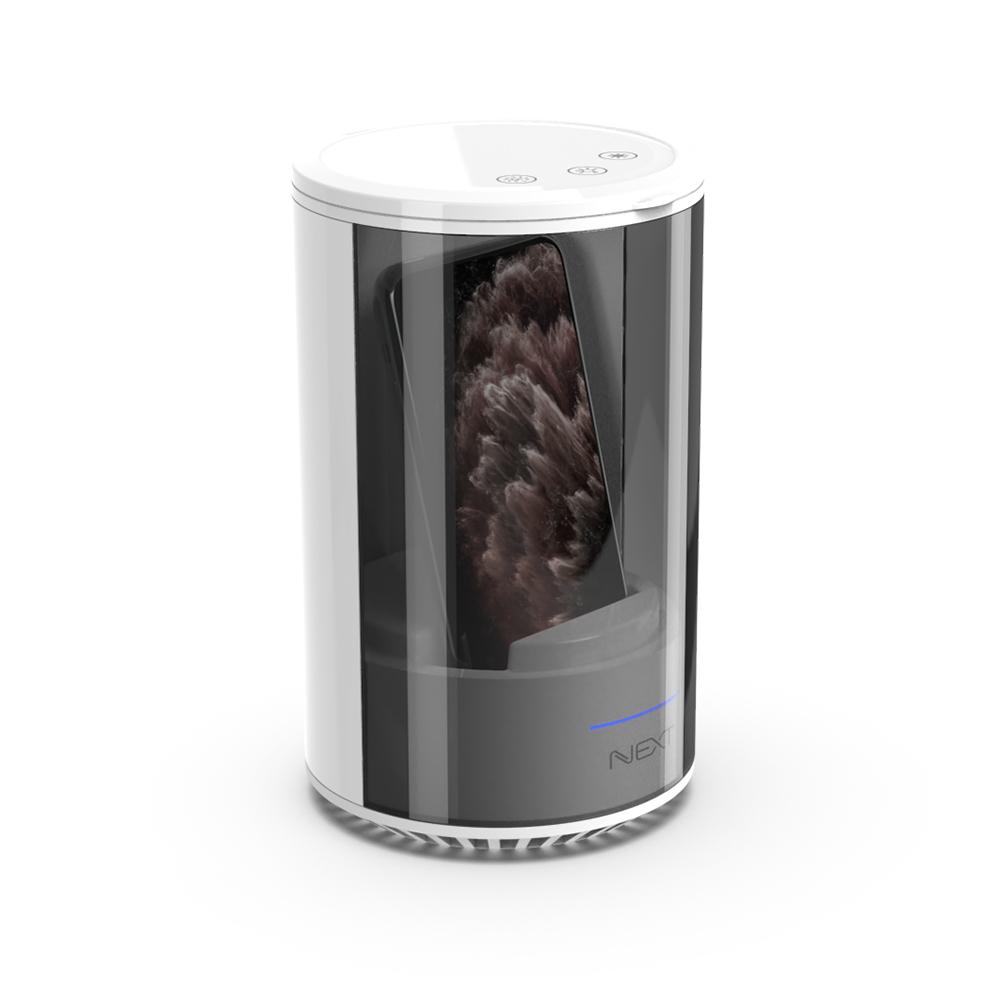 넥스트 스마트폰 칫솔 마스크 멀티살균기 NEXT-236CPS, NEXT-236CPS(화이트)