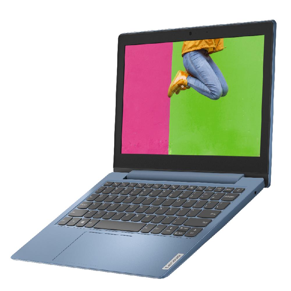 레노버 아이디어패드 노트북 Ice Blue S150-11 81VT (Intel Celeron N4020 29.5cm WIN10 Home S), 포함, eMMC 64GB, 4GB