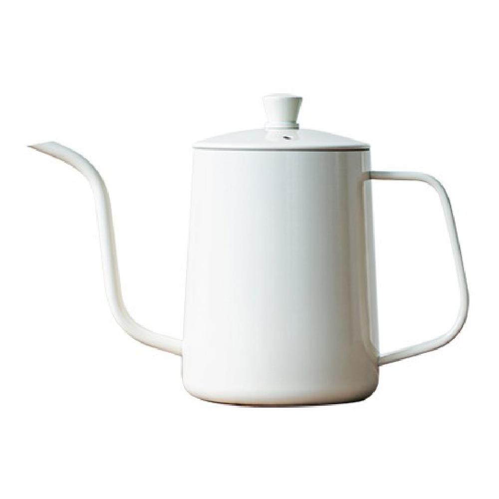칼딘 테프론 커피 핸드드립 주전자 600ml, 아이보리, 1개