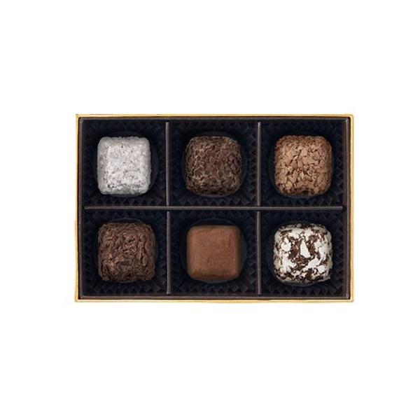 고디바 큐브 트뤼프 컬렉션 초콜릿 6종 세트, 1세트