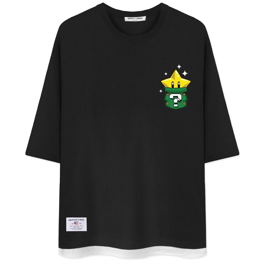 네스파 별주머니 7부 티셔츠 SRB_0281