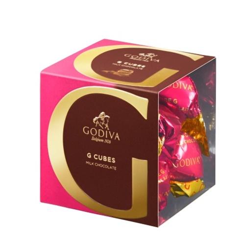 고디바 지큐브 밀크 초콜릿 8p, 66g, 1개