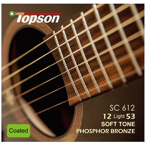 탑선 통기타 스트링 Phosphor bronze Soft Tone, light gauge 012 .016 .024 .032 .042 .054
