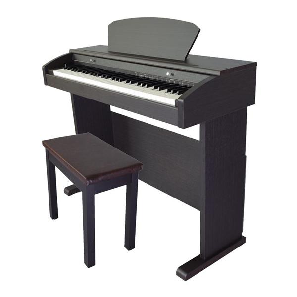 비바체 전자 디지털 피아노 vs-620Pro + 의자 + 뚜껑 + CD, 단일상품, 로즈우드