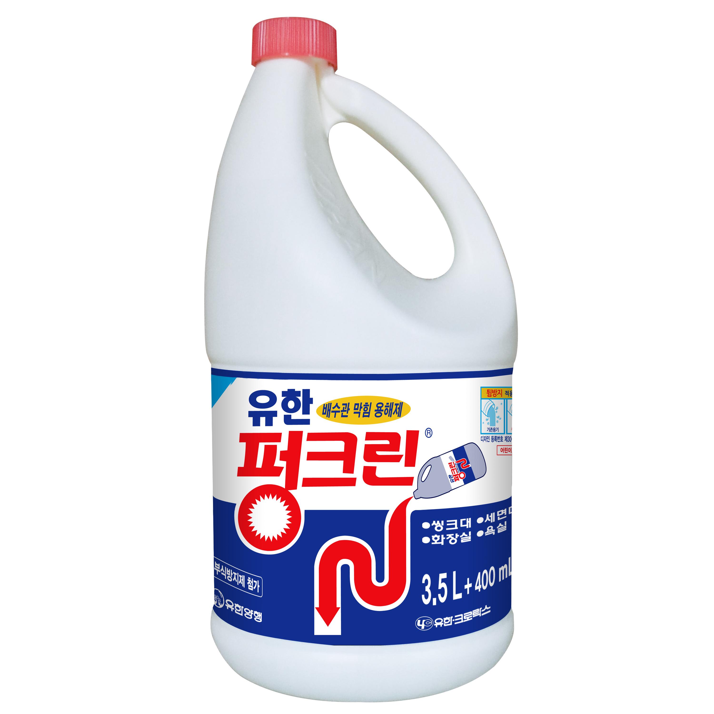 유한양행 펑크린 배수구 세정제, 3.9L, 1개